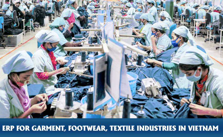 """If you have questions regarding potential ERP solutions or implementing an effective new management system for the garment industry, please contact us for more information of our solution """"Vietsoft ERP for Garment"""""""